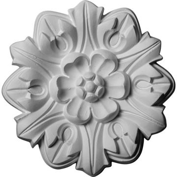 Restorers Architectural Emery Leaf Prefinished Ceiling Medallion