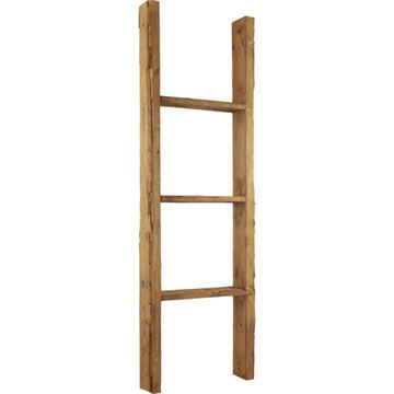 Restorers Architectural Farmhouse 3 Rung Prefinished Ladder