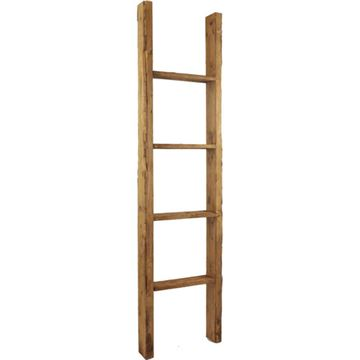 Restorers Architectural Farmhouse 4 Rung Prefinished Ladder