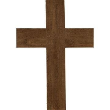 Restorers Architectural Farmhouse Cross - 16 Inch