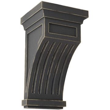 Restorers Architectural Fluted 10 Inch Prefinished Corbel
