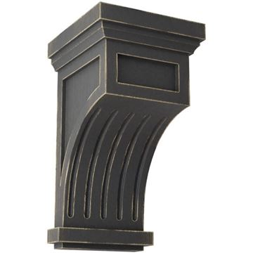 Restorers Architectural Fluted 13 Inch Prefinished Corbel