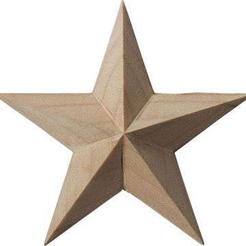 Restorers Architectural Galveston Star Rosette Applique