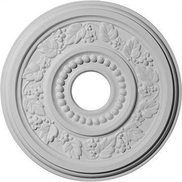 Restorers Architectural Genevieve Prefinished Ceiling Medallion
