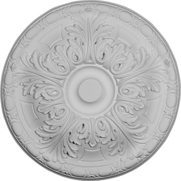 Restorers Architectural Granada 15 3/4 Prefinished Ceiling Medallion