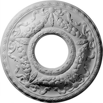 Restorers Architectural Hurley Prefinished Ceiling Medallion