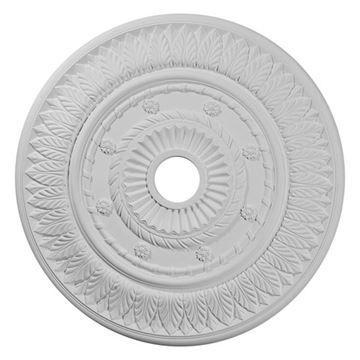 Restorers Architectural Leaf 26 3/4 Prefinished Ceiling Medallion