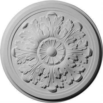 Restorers Architectural Legacy Acanthus Prefinished Ceiling Medallion