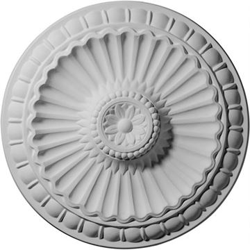 Restorers Architectural Linus Prefinished Ceiling Medallion