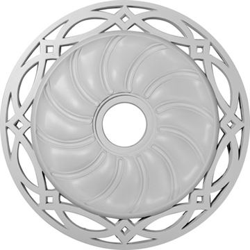Restorers Architectural Loera Prefinished Ceiling Medallion
