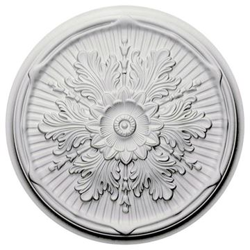 Restorers Architectural Luton 21 Inch Prefinished Ceiling Medallion