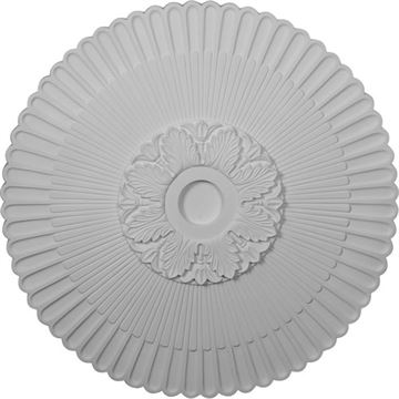 Restorers Architectural Melonie 36 Inch Prefinished Ceiling Medallion