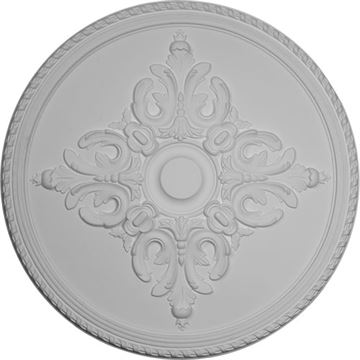 Restorers Architectural Milton Prefinished Ceiling Medallion