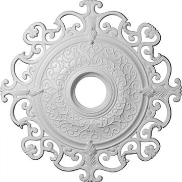 Restorers Architectural Munich 38 3/8 Prefinished Ceiling Medallion