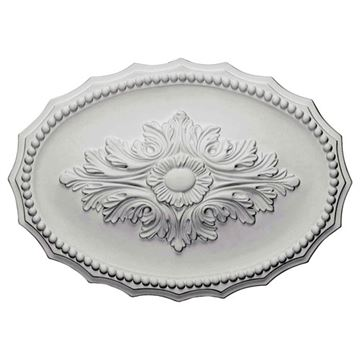 Restorers Architectural Oxford Prefinished Ceiling Medallion