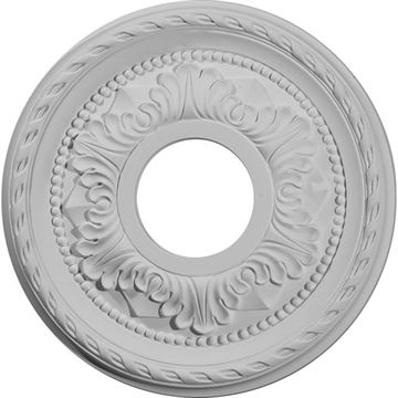 Restorers Architectural Palmetto 11 3/8 Prefinished Ceiling Medallion