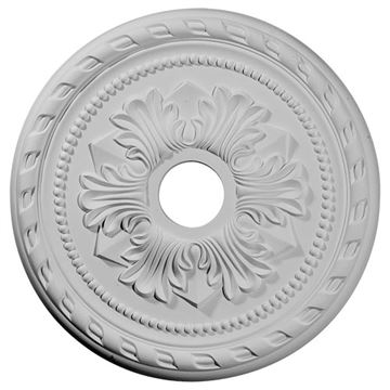 Restorers Architectural Palmetto 20 7/8 Prefinished Ceiling Medallion