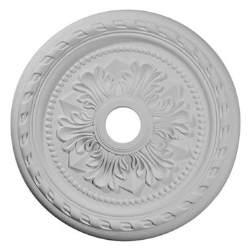 Restorers Architectural Palmetto 23 5/8 Prefinished Ceiling Medallion