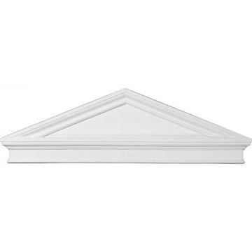 Restorers Architectural Peaked Cap Urethane Pediment