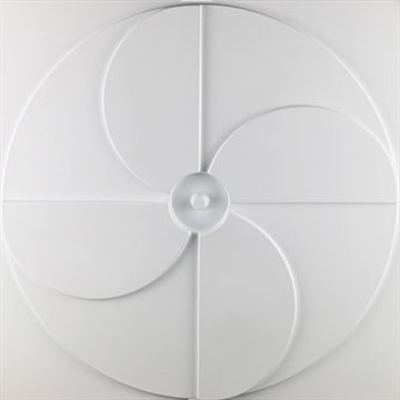 Restorers Architectural Pinwheel EnduraWall Decorative 3D Wall Panel
