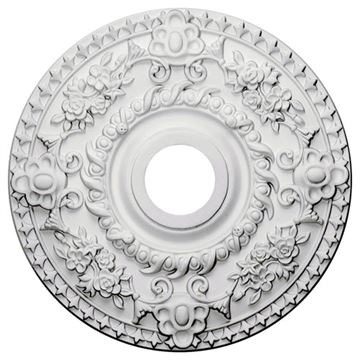 Restorers Architectural Rose 18 Prefinished Ceiling Medallion