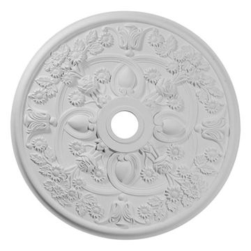 Restorers Architectural Rose 30 7/8 Prefinished Ceiling Medallion