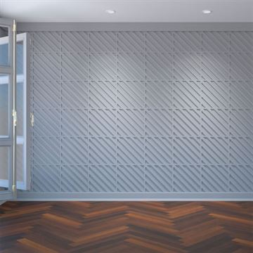 Restorers Architectural Rothwell PVC Fretwork Decorative Wall Panel