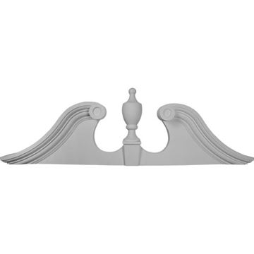 Restorers Architectural Scroll Urn Urethane Pediment