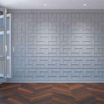 Restorers Architectural Sheffield PVC Fretwork Decorative Wall Panel