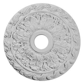 Restorers Architectural Spring Leaf Prefinished Ceiling Medallion