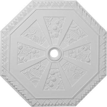 Restorers Architectural Spring Octagonal Prefinished Ceiling Medallion