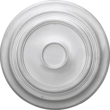 Restorers Architectural Traditional 24 3/8 Inch Prefinished Medallion