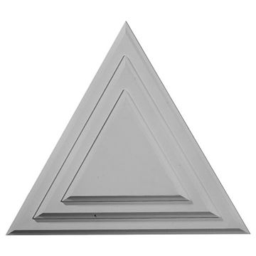 Restorers Architectural Triangle Prefinished Ceiling Medallion
