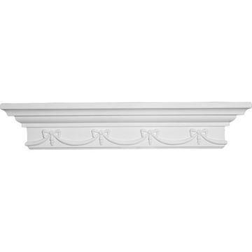 Restorers Architectural Versailles Corner Urethane Shelf