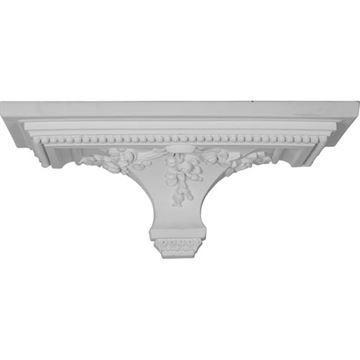 Restorers Architectural Victorian 18 Urethane Shelf