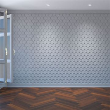Restorers Architectural Westmore PVC Fretwork Decorative Wall Panel