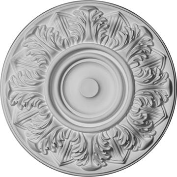 Restorers Architectural Whitman Prefinished Ceiling Medallion