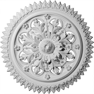 Restorers Architectural York Prefinished Ceiling Medallion