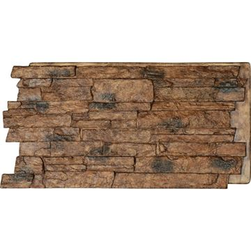 StoneWall Acadia Ledge Stacked Stone Faux Stone Wall Siding Panel