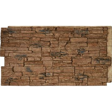 StoneWall Canyon Ridge Stacked Stone Faux Stone Wall Siding Panel