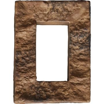 StoneWall Universal Electrical Cover for Faux Stone Siding Panel