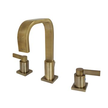 Fauceture NuvoFusion Lever Widespread Bathroom Faucet
