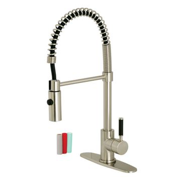 Gourmetier Kaiser Single Handle Pre-Rinse Kitchen Faucet