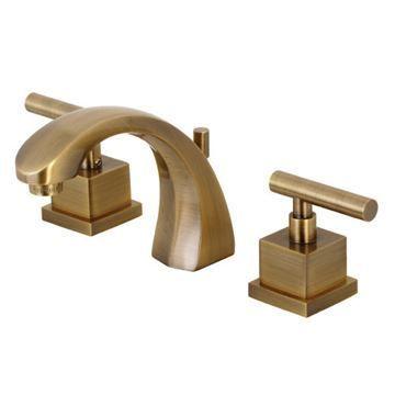 Restorers Claremont 8 Inch Widespread Metal Lever Bathroom Faucet