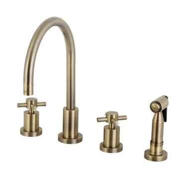 Restorers Concord 8 Inch Kitchen Faucet & Sprayer