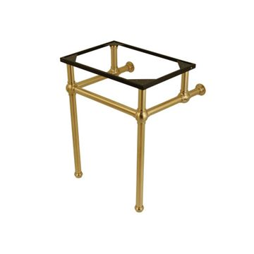 Restorers Templeton Brushed Brass Console Legs Only - No Top