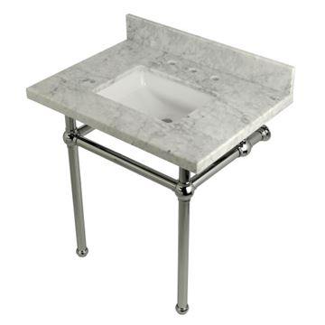 Rers Templeton Marble Console Sink
