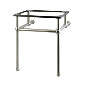 Restorers Templeton Polished Nickel Console Legs Only - No Top