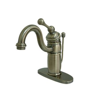 Restorers Victorian Single Bathroom Faucet with Pop Up Drain
