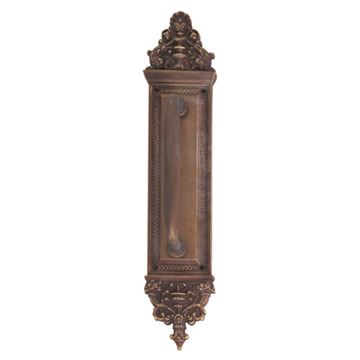 Brass Accents 18 Inch Apollo Pull Plate - 7 Inch Colonial Revival Pull